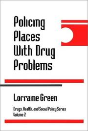 Cover of: Policing Places With Drug Problems (Drugs, Health, and Social Policy)