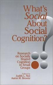 Whats Social about Social Cognition?