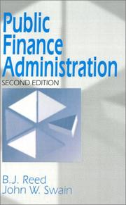 Cover of: Public finance administration