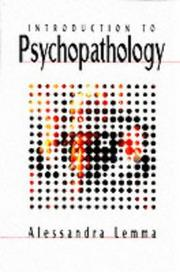 Cover of: Introduction to psychopathology