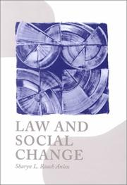 Cover of: Law and Social Change