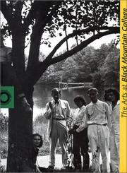 Cover of: The arts at Black Mountain College