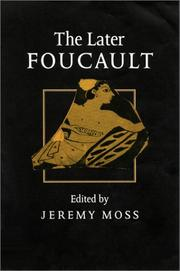 Cover of: The Later Foucault