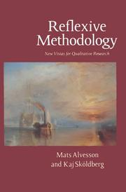 Cover of: Reflexive methodology | Mats Alvesson