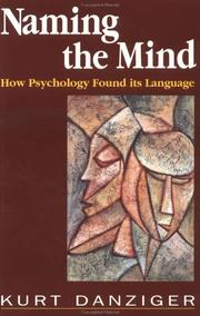 Cover of: Naming the Mind | Kurt Danziger