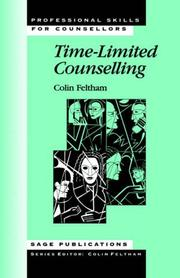 Cover of: Time limited counselling