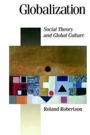 Cover of: Globalization | Robertson, Roland.
