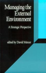 Cover of: Managing the External Environment | David S Mercer
