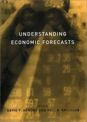 Cover of: Understanding Economic Forecasts |