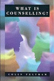 Cover of: What is counselling?