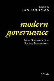Cover of: Modern Governance