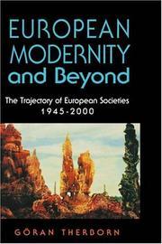European modernity and beyond
