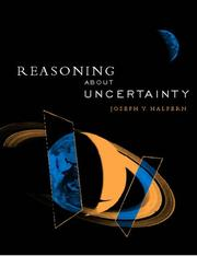 Cover of: Reasoning about Uncertainty | Joseph Y. Halpern
