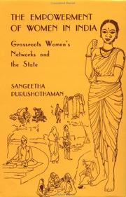 Cover of: The Empowerment of Women in India