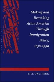 Cover of: Making and Remaking Asian America