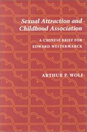 Cover of: Sexual attraction and childhood association