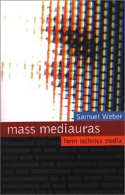 Cover of: Mass mediauras