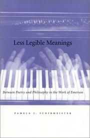 Cover of: Less legible meanings