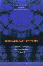 Cover of: Cinematograph of words