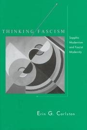 Cover of: Thinking fascism