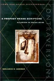 Cover of: A prophet reads scripture