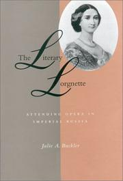Cover of: The literary lorgnette | Julie A. Buckler