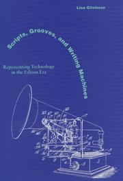 Cover of: Scripts, Grooves, and Writing Machines