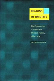 Cover of: Regions of identity | Kate McCullough