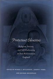 Cover of: Protestant identities |
