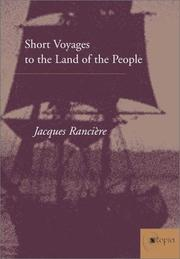 Short Voyages to the Land of the People (Atopia: Philosophy, Political Theory, Ae)