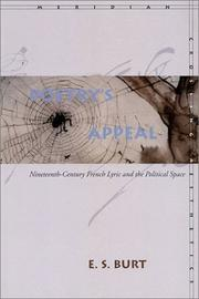 Cover of: Poetry's appeal