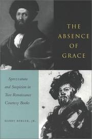 Cover of: The absence of grace