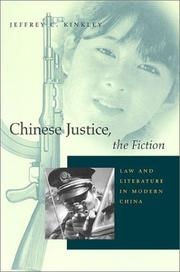 Cover of: Chinese Justice, the Fiction