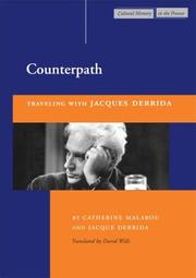 Cover of: Counterpath: Traveling with Jacques Derrida (Cultural Memory in the Present)