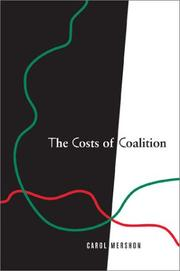 Cover of: The Costs of Coalition