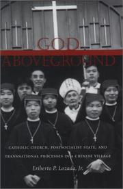 Cover of: God Aboveground