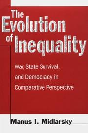 Cover of: The Evolution of Inequality