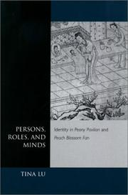 Cover of: Persons, Roles, and Minds