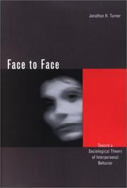 Cover of: Face to Face | Jonathan Turner