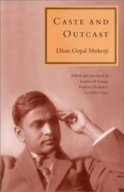 Cover of: Caste and outcast | Dhan Gopal Mukerji