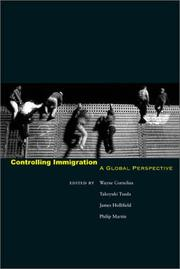 Cover of: Controlling immigration