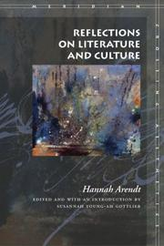 Cover of: Reflections on Literature and Culture (Meridian: Crossing Aesthetics)