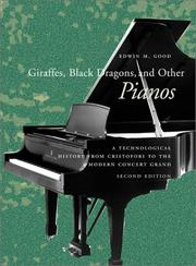 Cover of: Giraffes, Black Dragons, and Other Pianos