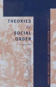 Cover of: Theories of Social Order |