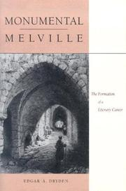 Cover of: Monumental Melville