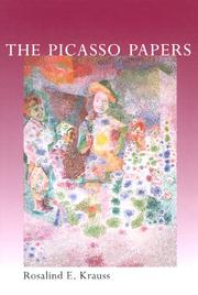 Cover of: The Picasso papers