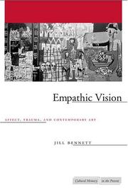 Cover of: Empathic Vision | Jill Bennett
