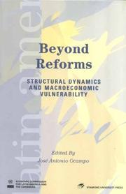 Cover of: Beyond Reforms