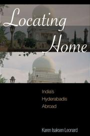 Cover of: Locating Home | Karen Leonard