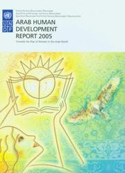 Cover of: Arab Human Development Report 2005 | United Nations. Development Programme.